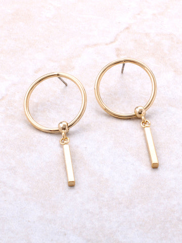 Key Chain Drop Earring
