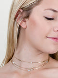 Jeweled Bar Choker