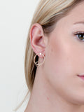 Intercepted Stud Earring