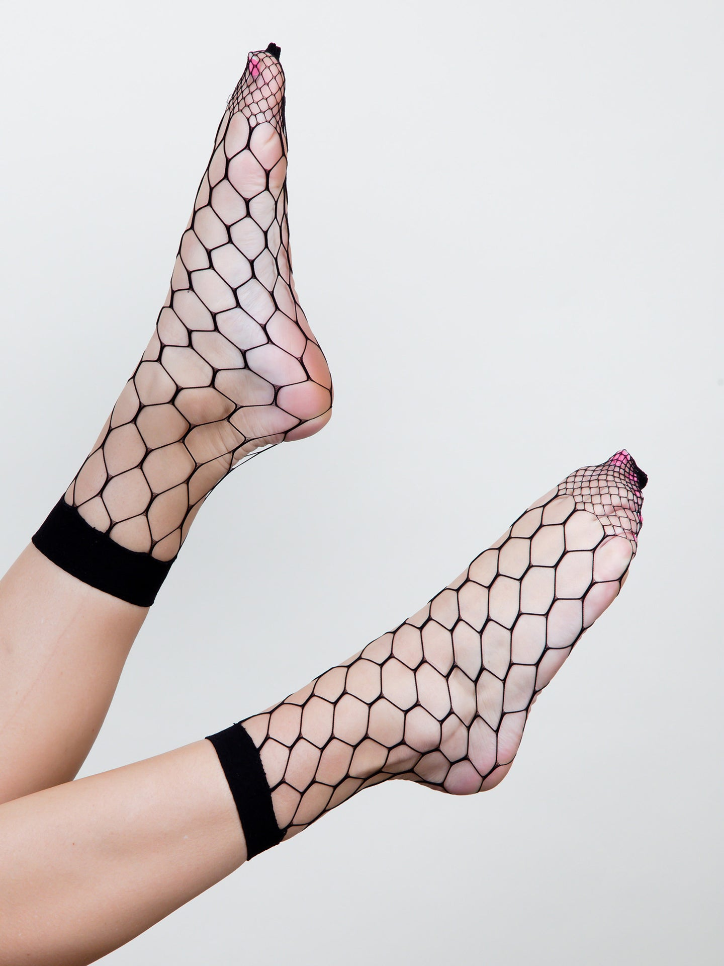 Fishnet Ankle Socks