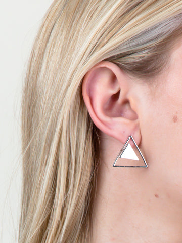 Three Corners Earring