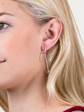 Horn Bar Earring