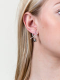 Bar Ball Earrings