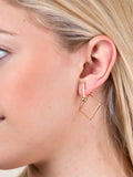 Diamond Shaped Earring