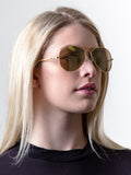 Zeus Aviator Sunglasses