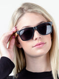 Oak Wayfarer Sunglasses