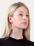 Oval Dangle Earring