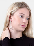 Double Radius Bar Earring