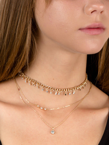 Sprinkle Layered Choker