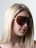 Oversize Shield Sunglasses