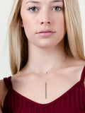 Star Double Lariat Necklace