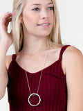 Hoop Layering Necklace