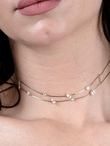 Double Gem Choker