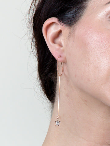 Shooting Star Drop Earring
