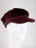 Velvet Cabbie Hat