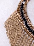 Beaded Chain Choker Anarchy Street Gold - Details