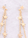 Estrella Dangle Earrings Anarchy Street Gold - Details