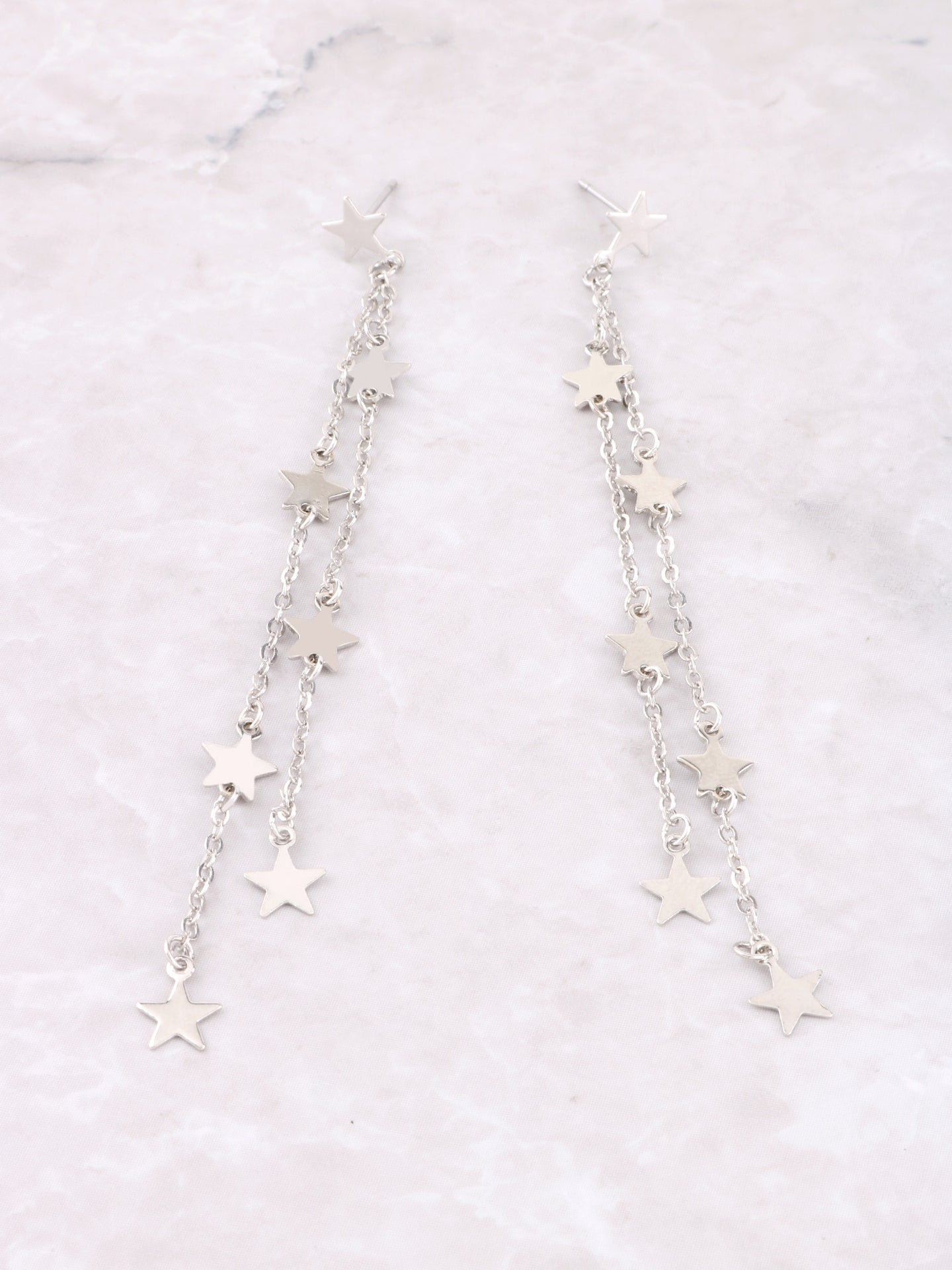 Estrella Dangle Earrings Anarchy Street Silver