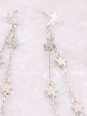 Estrella Dangle Earrings Anarchy Street Silver - Details