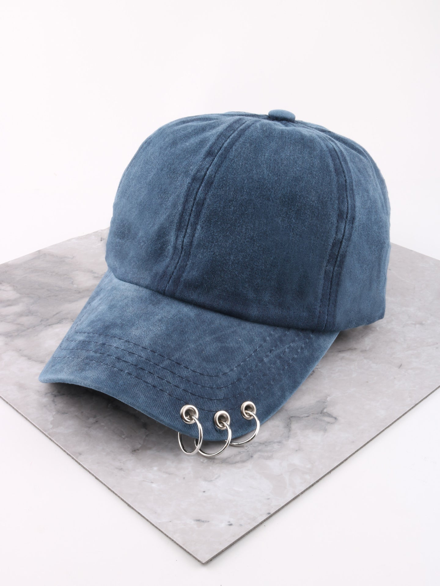 Pierced Cap Anarchy Street Blue