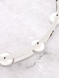 Wrecking Ball Choker Anarchy Street Silver - Details