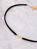 Safety Pin Choker Anarchy Street Gold - Details