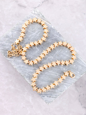 You Are A Star Choker Anarchy Street Gold - Details