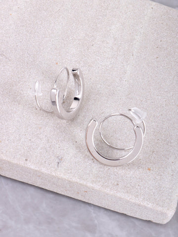 Whirl Earrings Anarchy Street Silver
