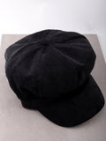 Corduroy News Boy Hat Anarchy Street Black