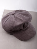 Corduroy News Boy Hat Anarchy Street Gray