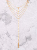 Kite Layered Choker Anarchy Street Gold