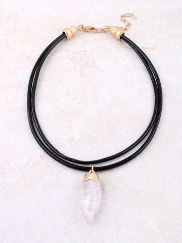 Stone Point Choker Anarchy Street Black
