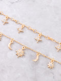 Constellation Layered Choker Anarchy Street Gold - Details