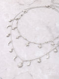 Constellation Layered Choker Anarchy Street Silver