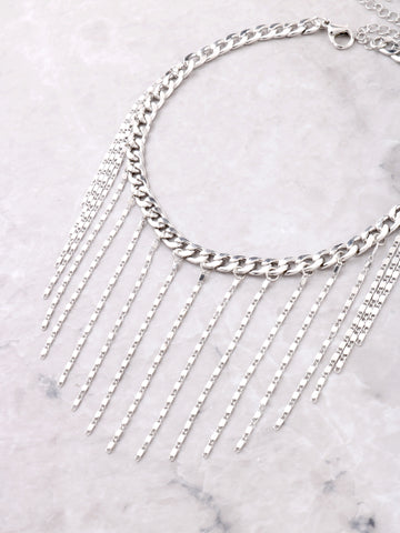 Hanging Curb Chain Choker