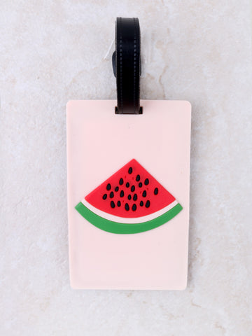 Watermelon Luggage Tag Anarchy Street Nude