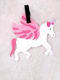 Unicorn Luggage Tag Anarchy Street Pink