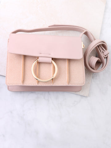 Infinite Semi Velvet Bag Anarchy Street Pink