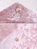 Velvet Clutch Bag Anarchy Street Pink - 3 Details