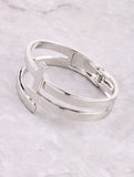 In Between Cuff Bracelet Anarchy Street Silver