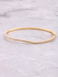 Pave Wave Stacking Bracelet Anarchy Street Gold
