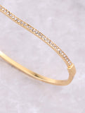Pave Wave Stacking Bracelet Anarchy Street Gold - Details
