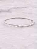Pave Wave Stacking Bracelet Anarchy Street Silver