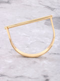 Barbell Bracelet Anarchy Street Gold