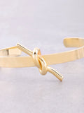 Knot Up Cuff Bracelet Anarchy Street Gold - Details