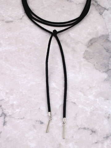 Infinite Drop Bar Choker Anarchy Street Black