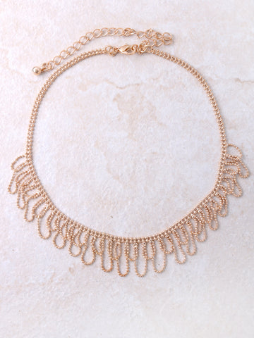 Chandelier Drop Choker