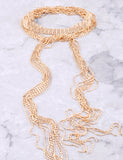 Waterfall Choker Anarchy Street Gold