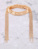 Waterfall Choker Anarchy Street Gold - Details