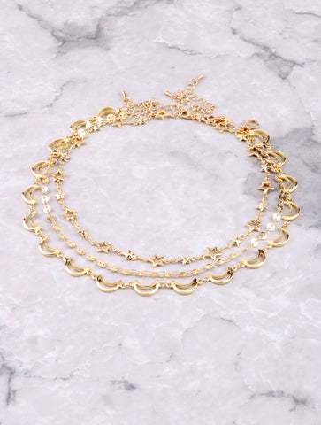 Golden Skies Choker Set Anarchy Street Gold
